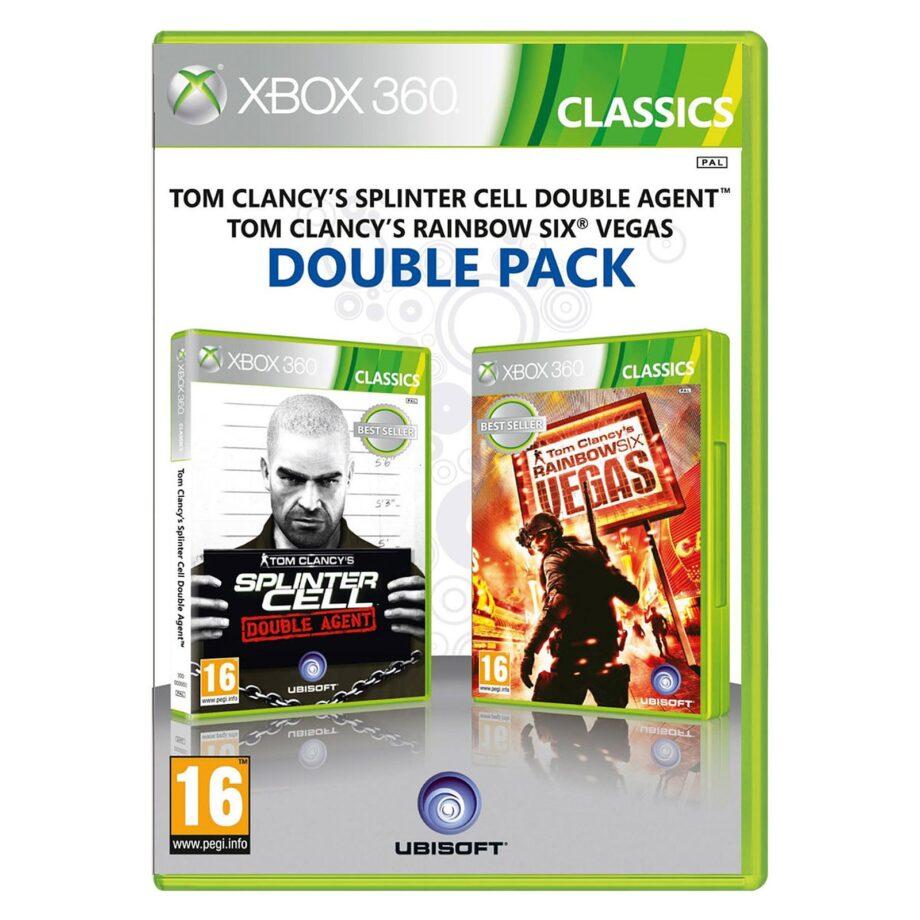 kupit_double_pack_splinter_cell_double_agent_rainbow_six_vegas_xbox_360